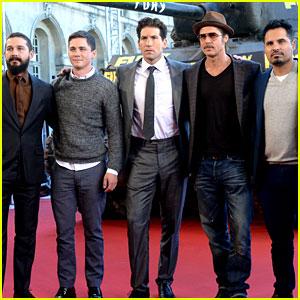 Brad Pitt's 'Fury' Tops Friday Box Office with $8.8 Million!