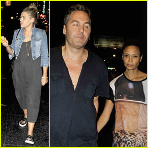 Busy Philipps & Thandie Newton Hit War on Drugs Hollywood Concert