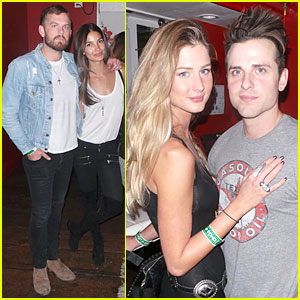 Caleb & Jared Followill Get Love & Support From Their Supermodel Wives After Kings of Leon Hollywood Concert