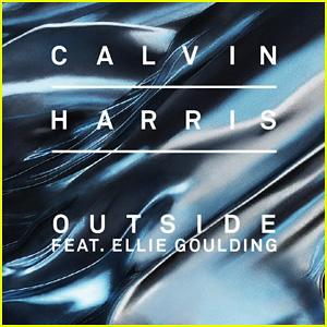 Calvin Harris & Ellie Goulding's 'Outside' - Full Song & Lyrics!