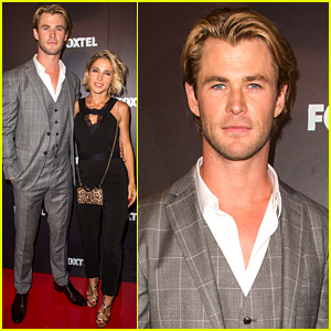 Chris Hemsworth & Elsa Pataky Hit the Red Carpet Together & Talk About Their Kids!