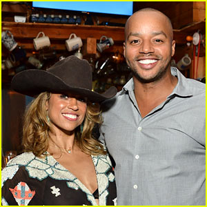 Clueless' Donald Faison & Stacey Dash Reunite at 'Exes' Party