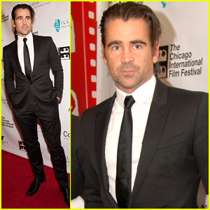 Colin Farrell Premieres 'Miss Julie' at Chicago Film Festival
