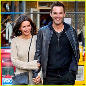 Courteney Cox & Johnny McDaid Look So in Love in New York City!