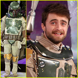 Daniel Radcliffe Dresses Up for Halloween, Says He's Never Been Trick-or-Treating