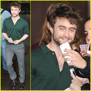 Daniel Radcliffe Knows He's Fortunate to Do a Job He Adores