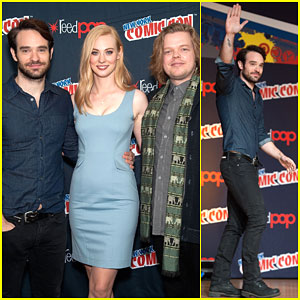 Charlie Cox & Deborah Ann Woll Bring 'Daredevil' to NYC