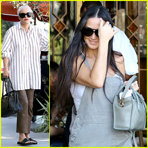 Demi Moore Daughters 2014