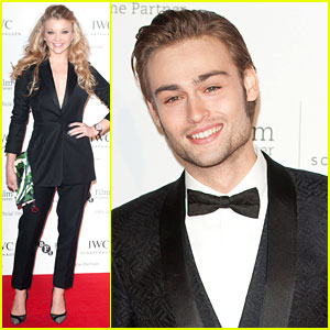 Douglas Booth & Natalie Dormer Stick to Black Tie at IWC Gala