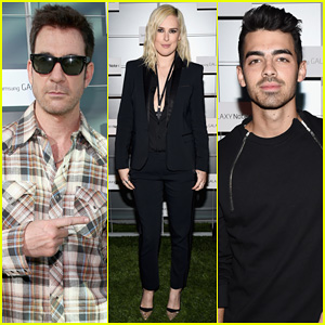 Dylan McDermott & Joe Jonas Watch Rumer Willis Perform at Samsung Galaxy Note 4 Launch Party!