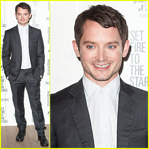 Elijah Wood & His Co-Stars 'Set Fire to the Stars' in London