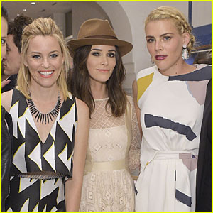 Elizabeth Banks & Busy Philipps Support Irene Neuwirth at Her Store Opening