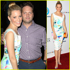 Elizabeth Banks & Hubby Max Handelman Support Advocates Of Education at LA's Promise Gala!
