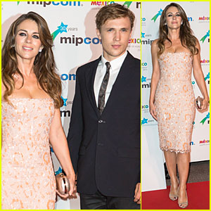 Elizabeth Hurley & William Moseley Bring 'The Royals' to MIPCOM