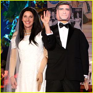 Ellen DeGeneres Is Amal Clooney for Halloween Costume 2014!