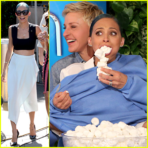 Nicole Richie Gets Marshmallows Shoved Into Her Mouth By Ellen DeGeneres - Watch Now!