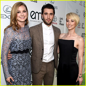 Emily VanCamp & Josh Bowman Couple Up at Environmental Media Awards 2014!