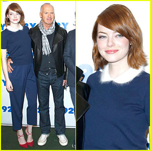 Emma Stone Says 'Birdman' Was Very Hard to Shoot