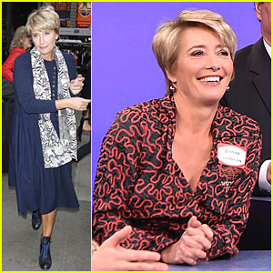 Emma Thompson Tries to Figure Out The Password On 'Tonight Show' - Watch Now!