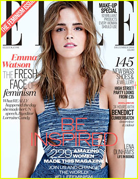 Emma Watson Talks About Being a Feminist for 'Elle UK' Cover