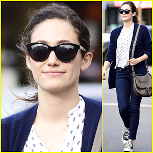 Emmy Rossum Loves Making Dad Jokes on Twitter