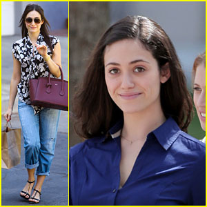 Emmy Rossum Has an Interesting Experience with a Sleep App!