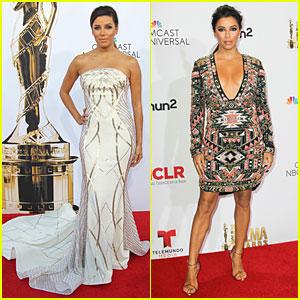 Eva Longoria's Two Dresses Turn Heads at ALMA Awards 2014