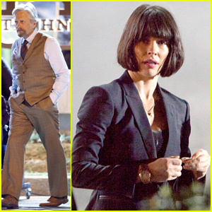 Evangeline Lilly Rocks Short Dark Bob for 'Ant-Man' Filming