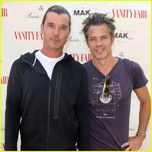 Gavin Rossdale Defeats Timothy Olyphant in a Tennis Match!