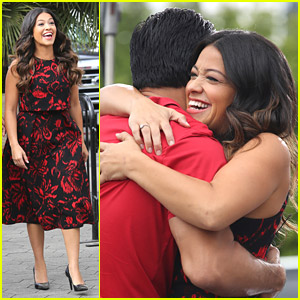 Gina Rodriguez Was 'Praying & Waiting' For 'Jane The Virgin' Role