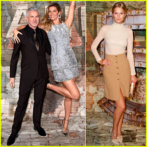 Gisele Bundchen Supports Baz Luhrmann's New 'No. 5' Film!