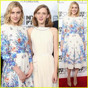 Greta Gerwig Goes Floral for NY Film Festival 'Eden Premiere!