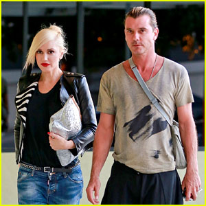 Gwen Stefani Steps Out with Gavin Rossdale Before 45th Birthday
