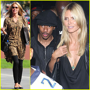 Heidi Klum & Nick Cannon Celebrate His Birthday Early at Playhouse