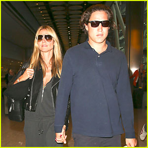 Heidi Klum & Boyfriend Vito Schnabel Show PDA After Her Divorce Finalized