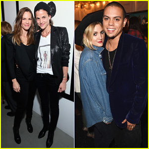Hilary Swank, Ashlee Simpson & Evan Ross Have A Special Evening at Photographer Brian Bowen Smith's Wildlife Show