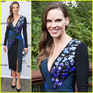 Hilary Swank Opens the Mill Valley Film Festival 2014 in Style with 'The Homesman'!