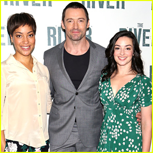 Hugh Jackman Introduces His Show 'The River' to the Press!