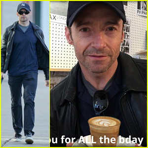 Hugh Jackman Thanks Fans for Birthday Love with Hot Selfie