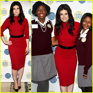 Idina Menzel Helps Empower Young Women at the (Em)Power Breakfast!