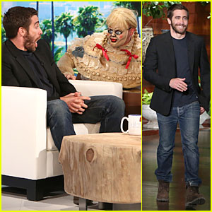 Jake Gyllenhaal's Face & Reaction is Priceless During 'Ellen Show' Scare