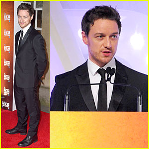 James McAvoy Helps Recognize 'Leviathan' at BFI London Film Festival Awards