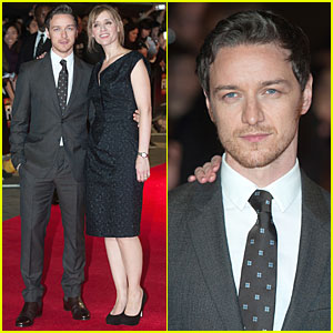 James McAvoy Has Wife Anne-Marie Duff's Support at 'Disappearance Of Eleanor Rigby' BFI Premiere