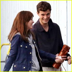 Jamie Dornan & Dakota Johnson Reunite as Christian & Anastasia to Film 'Fifty Shades of Grey' Reshoots!