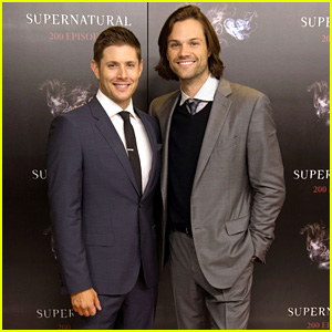 Jensen Ackles & Jared Padalecki Suit Up for 'Supernatural' 200th Episode Celebration