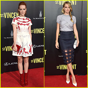 Jena Malone & Lindsay Ellingson Make It Hot at 'St. Vincent' Premiere