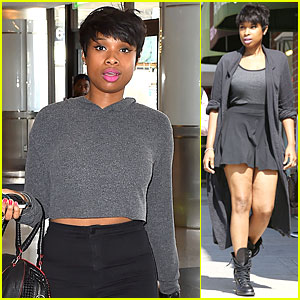 Jennifer Hudson Travels to NYC to Sing 'It's Your World'