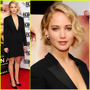 Jennifer Lawrence Is Chic & Gorgeous at 'Serena' London Premiere