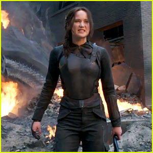 Jennifer Lawrence Jumps Into Action for Final 'Mockingjay' Trailer!