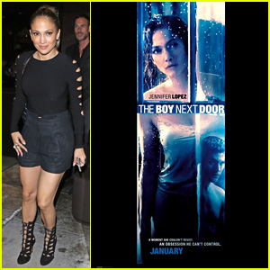 Jennifer Lopez Stares at 'The Boy Next Door' in New Poster!